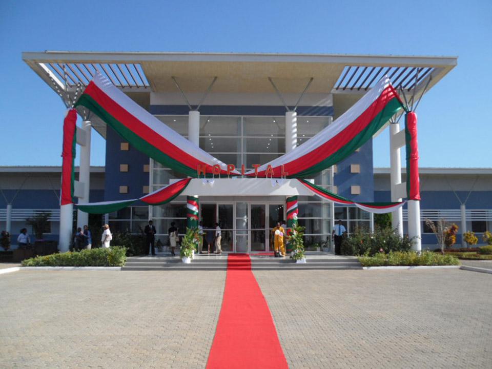 Inauguration de l'Hôpital de Tuléar - 2013
