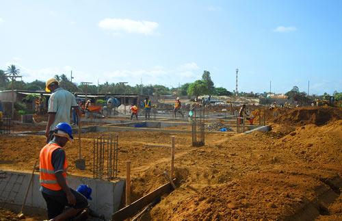 Nos chantiers créent des emplois à Madagascar