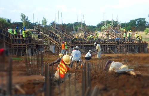 Nos chantiers sont des lieux où les savoir-faire se transmettent